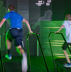 Nike+ Treadmill Game - HUSH